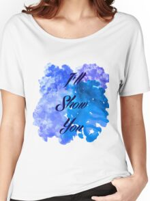 I'll Show You - Justin Bieber inspired Black Women's Relaxed Fit T-Shirt
