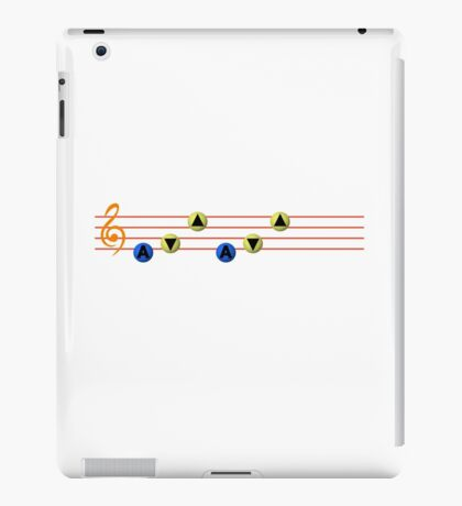 Ocarina Melodies - Song of Storms iPad Case/Skin