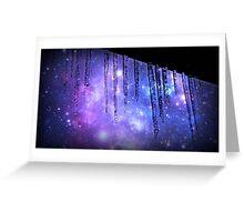 Frigid Galaxy  Greeting Card