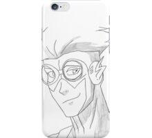 Kid Flash sketch iPhone Case/Skin