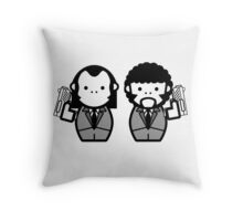 Pulpy Fiction Throw Pillow