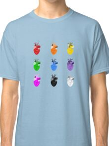 A life Dynamic in Rainbow Hearts Classic T-Shirt