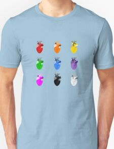 A life Dynamic in Rainbow Hearts T-Shirt