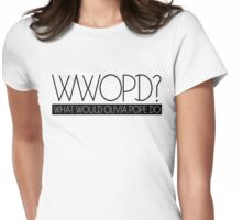 wwopd Womens Fitted T-Shirt