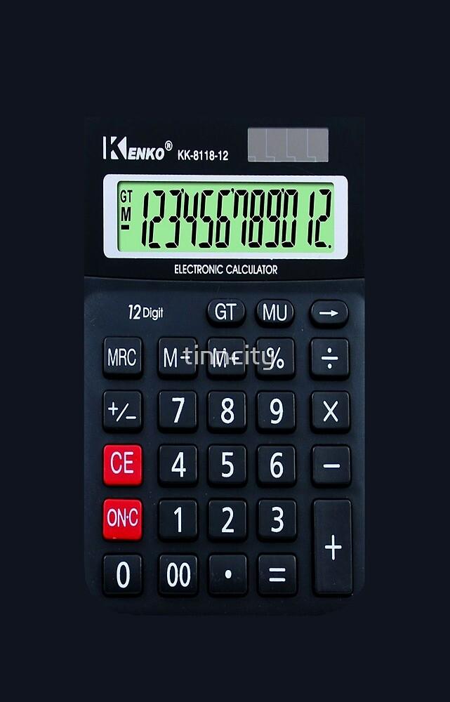iphone calculator by tinncity