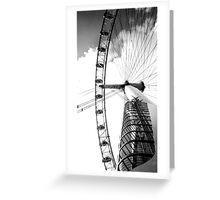 big wheel Greeting Card