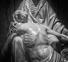 Statue of Maria with Jesus by ictor