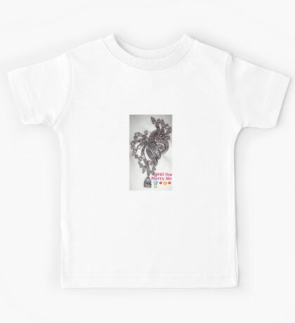 Will You Marry Me Kids Tee