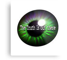 The X Files: Truth Metal Print