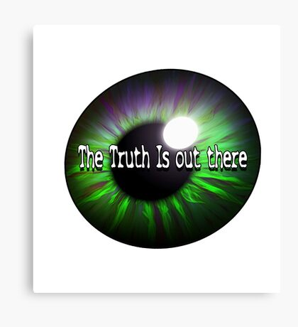 The X Files: Truth Canvas Print
