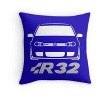 MKIV Golf R32 Front Throw Pillow