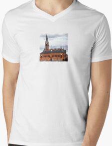 Copenhagen tower Mens V-Neck T-Shirt
