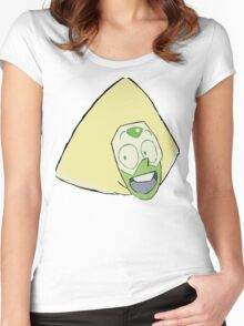 No!! Women's Fitted Scoop T-Shirt