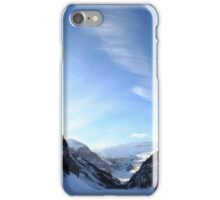 Sky above Lac Louise iPhone Case/Skin