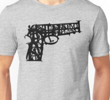word is a deadly weapon Unisex T-Shirt