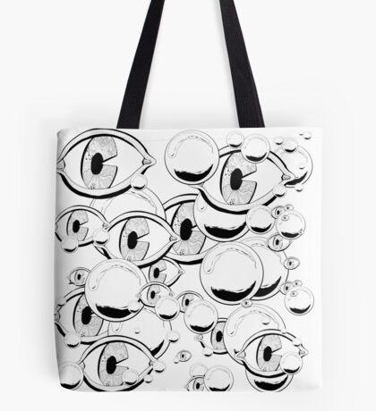 Eyes & Bubbles Tote Bag