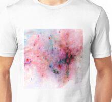 Red Negative Galaxy  Unisex T-Shirt