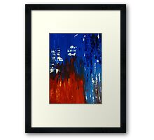 Original Abstract Art #191 - My Art Series Framed Print