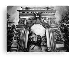 Washington Square Park Arch Canvas Print