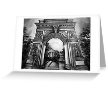 Washington Square Park Arch Greeting Card