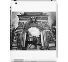 Washington Square Park Arch iPad Case/Skin