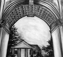Washington Square Park Arch Sticker