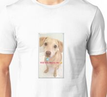Honey holding an engagement ring proposing Unisex T-Shirt