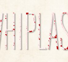 Whiplash film poster Sticker