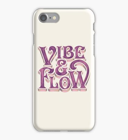 Vibe & Flow iPhone Case/Skin