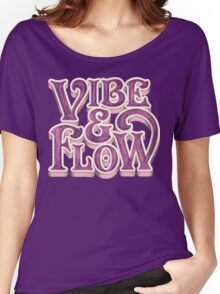 Vibe & Flow Women's Relaxed Fit T-Shirt