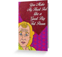 Buffalo Bill Valentine Greeting Card