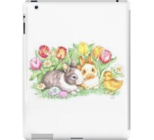 Bunnies and Chick iPad Case/Skin