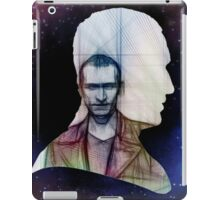The Ninth Doctor Silhouette with Sketch iPad Case/Skin