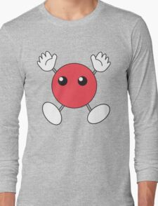 Hinata's Red Blob Shirt Design Long Sleeve T-Shirt