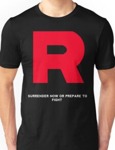 Team Rocket T-Shirt With Quote  Unisex T-Shirt