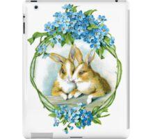 Basket of Bunnies iPad Case/Skin