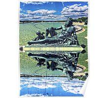 The Garonne Bronze Statue Versailles Paris France Sculpture Poster