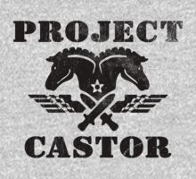 Project Castor Military Logo Kids Tee