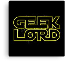 Geek Lord Canvas Print