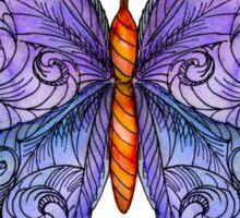 The Cosmic Purple Butterfly Sticker