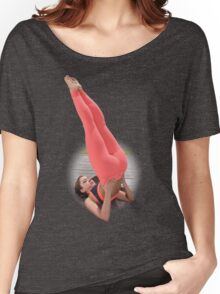Yoga Girl Color Women's Relaxed Fit T-Shirt