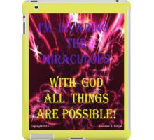 INVADING THE MIRACULOUS! iPad Case/Skin