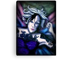 Falling for Camille Butterfly Canvas Print