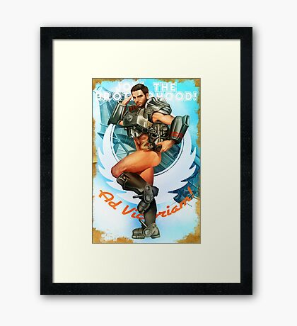 Join the Brotherhood! Framed Print