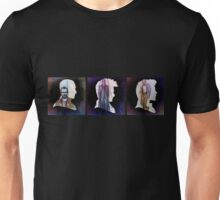 The Three Doctors' Silhouettes  Unisex T-Shirt