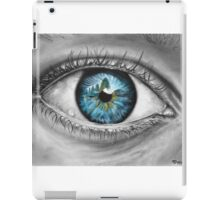 Blue Iris iPad Case/Skin