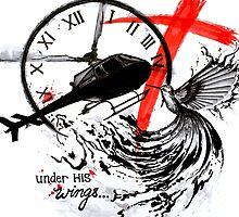 Under His Wings by minafordyce