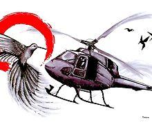 Friendly Flying by minafordyce