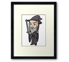Lord of the Rings - Gandalf the Grey Framed Print