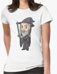 Lord of the Rings - Gandalf the Grey Womens Fitted T-Shirt
